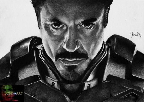 Iron Man by John-Art